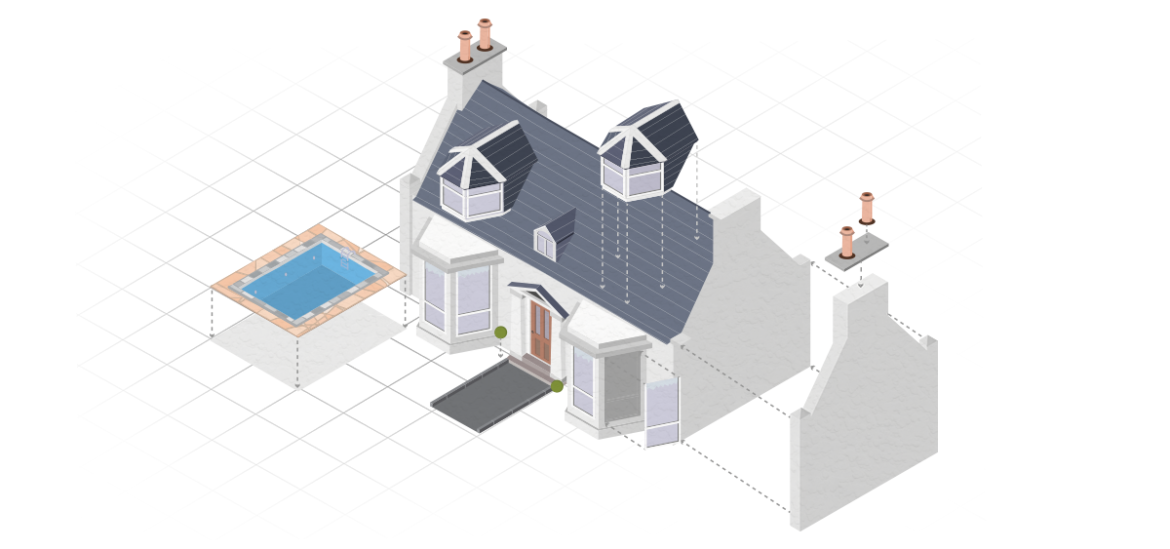 Build House Isometric City Map Builder Vector Map Creator
